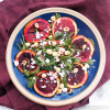 Roasted Blood Oranges, Feta and Hazelnuts Salad