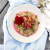 Rhubarb Compote Oatmeal and my First Official Marathon