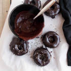 Chocolate lavender Glazed Cake Donuts. Revelations, part 2