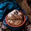 Coffee Walnut Cardamom Ice Cream