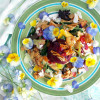 Nectarine Salad with Wine Dressing