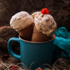 Baileys White Chocolate Walnut Ice Cream