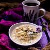Lavender White Chocolate Oatmeal