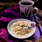Lavender White Chocolate Oatmeal
