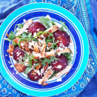 Roasted Plum Chicken Salad