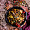 Bacon Cranberry Brussels Sprouts