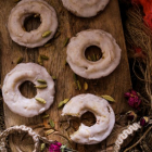 Cardamom Cake Donuts