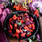 Beetroot Sweet Potato Hash