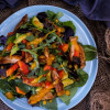 Chicken Salad with Sea Buckthorn Dressing