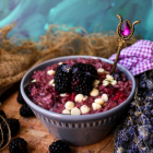 Blackberry Lavender White Chocolate Oatmeal
