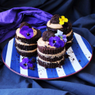 Dulce de leche Bailey's Mini Cakes