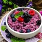 Berry Lavender Risotto