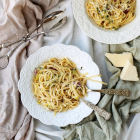 Leek Pancetta Pasta