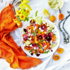 Smoked Salmon Apricot Salad