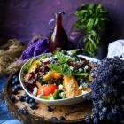 Quinoa Peach Lavender Salad