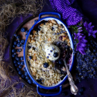 Blueberry Lavender Crumble