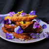 Lavender Maple French Toasts