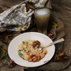 Spiced Maple Apple Cider Risotto