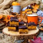 Spiced Pumpkin Nanaimo Bars