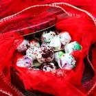Red Velvet Christmas Truffles