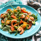 Smoked Salmon Shrimp Mandarin Salad