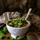 Vegetable Mushroom Barley Soup