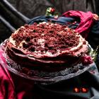 Red Velvet Crêpe Cake