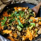 Chicken Broccoli Rice Skillet