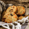 Apricot Pine Nuts Cheddar Cookies