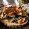 Chicken Mushroom Rustic Pie