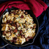 Sausage Bacon Sun-Dried Tomato Pasta