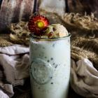 Boozy Amaretto Almond Milkshake
