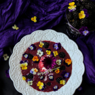 Blackberry Lavender Dessert Soup