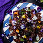 Chocolate Lavender Blackberry Pasta