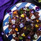 Chocolate Lavender Blackberry Pasta