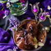Chocolate Lavender Mint Sorbet