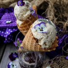 Earl Grey Lavender Ice Cream