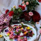 Raspberry Mint Poppy Seed Pasta