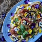 Fig Prosciutto Pistachio Pasta