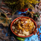 Spiced Apple Honey Millet Porridge