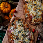 Butternut Squash Bacon Sage Naan Pizza