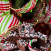 Chocolate Kahlua Peppermint Fudge