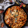 Butternut Squash Bacon Baked Gnocchi