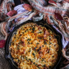Sweet Potato Bacon Gratin