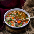 Chicken Bean Pasta Soup