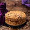 Lavender Medovik – Russian Honey Cake
