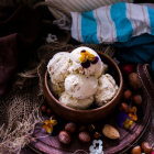 Hazelnut Honey Cinnamon Ice Cream