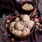 Dulce de Leche Peanut Butter Ice Cream