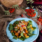 Roasted Butternut Squash Gnocchi Salad