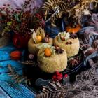 Mini Spiced Pumpkin Honey Cakes